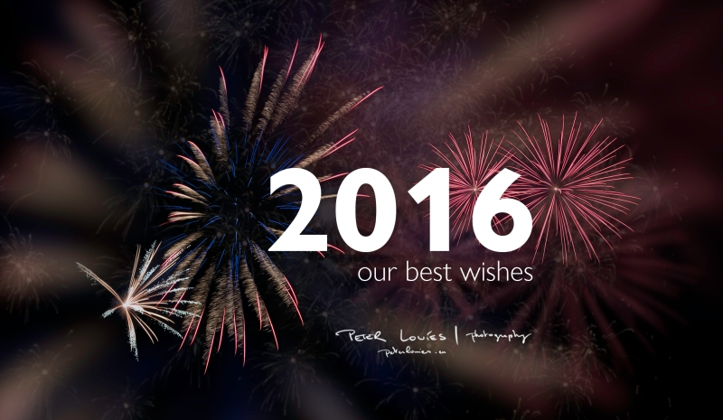 Our best wishes for 2016 - Peter Louies | Photography